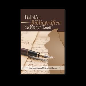 Libro   Boletín Bibliográfico  de Nuevo León